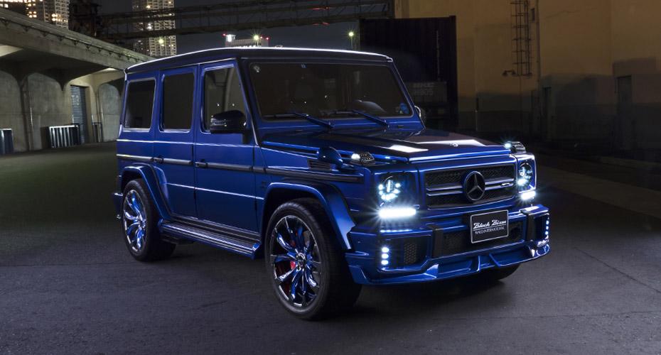 Обвес WALD Black Bison G63 для Mercedes G-class W463