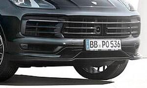 Накладка на передний бампер Techart для Porsche Cayenne Coupe E3
