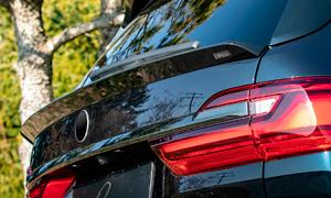 Спойлер на крышку багажника Lumma CLR для BMW X7 G07