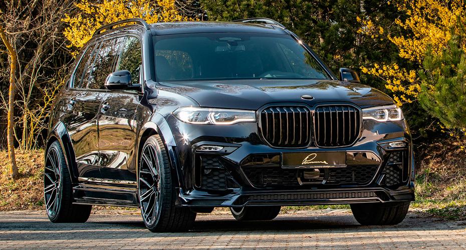 Тюнинг Lumma CLR для BMW X7 G07
