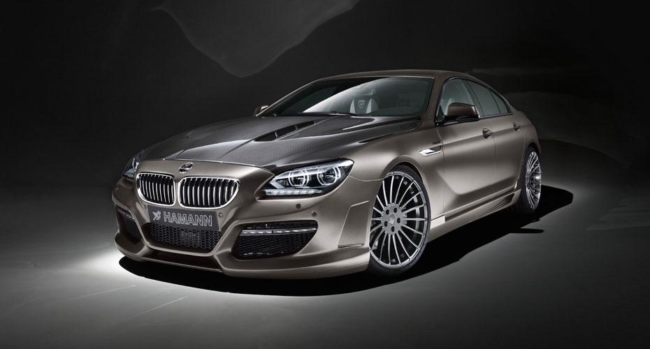 Обвес Hamann для BMW 6 Series F06 Gran Coupe