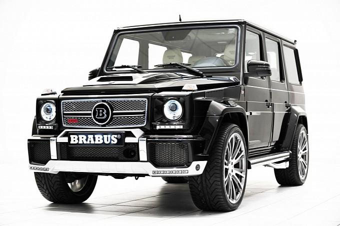BRABUS Widestar G63 AMG для Mercedes G-class w463