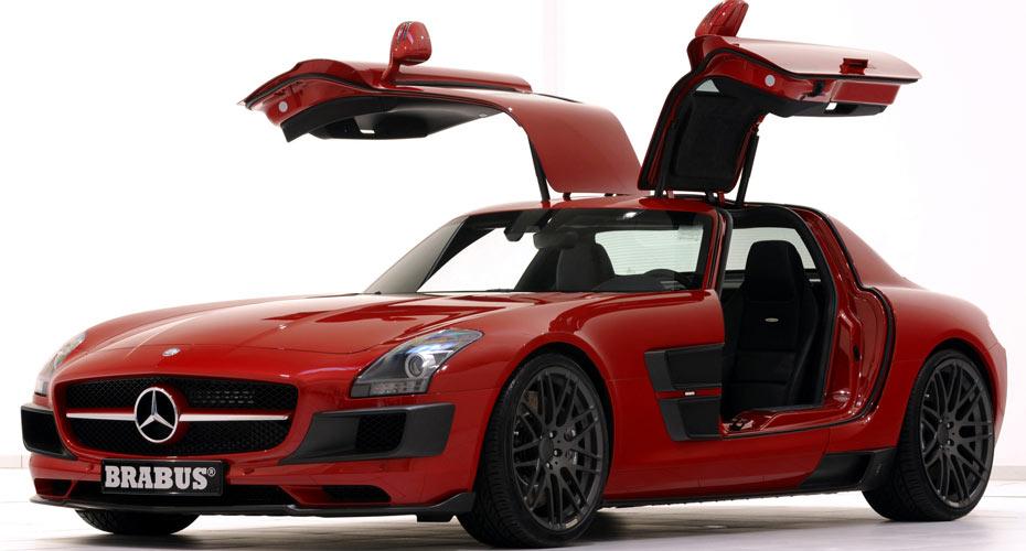 Обвес Brabus Widestar для Mercedes SLS