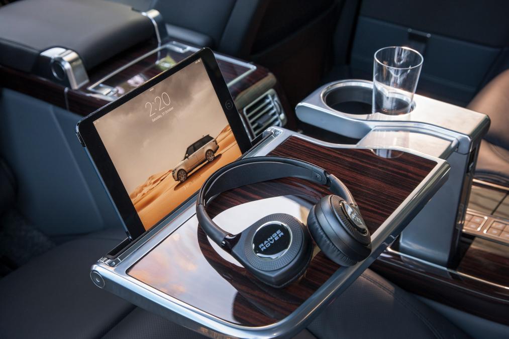 Наушники для пассажиров для Range Rover Evoque