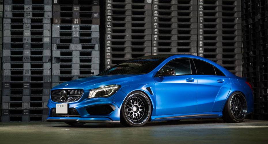 Обвес Fairy Design для Mercedes CLA-class C117