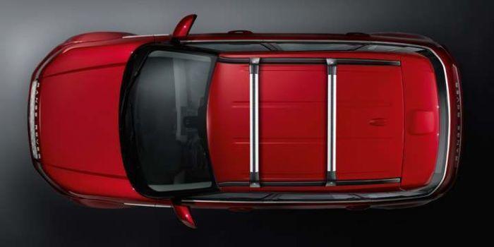 Поперечные рейлинги на крышу (Silver) для Range Rover Evoque