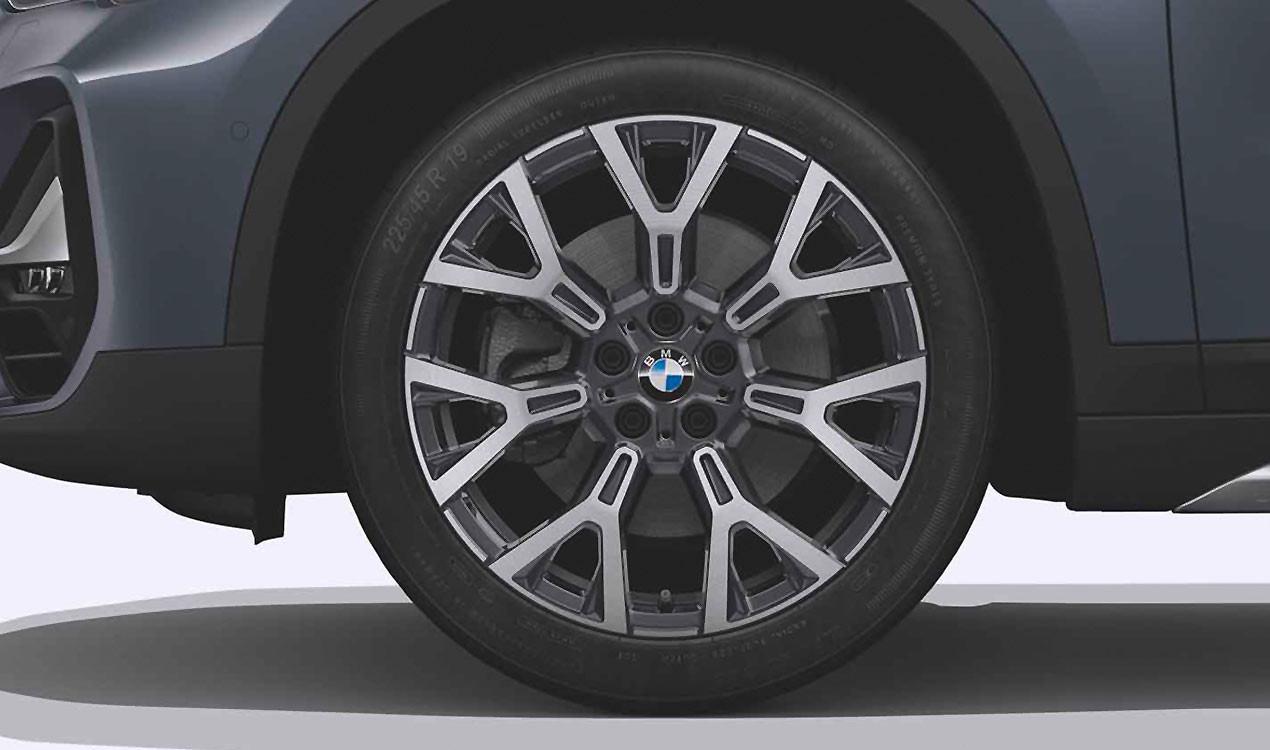 Легкосплавный колесный диск (Y-образные спицы) 580 для BMW X1 F49 LCI