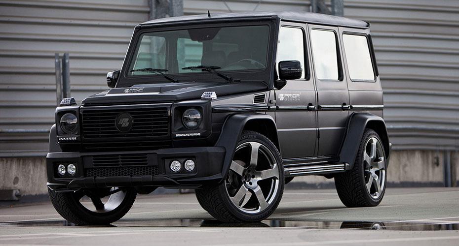 Обвес Prior Design для Mercedes G-class W463