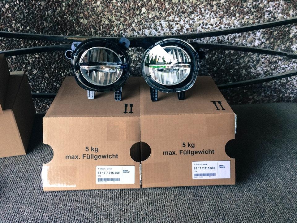 Светодиодная противотуманная фара освещения поворотов для BMW 1 Series F20/F21