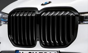 Решетка радиатора (черная) M Performance для BMW X7 G07