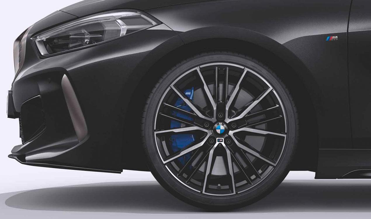 Легкосплавное дисковое колесо (сдвоенные спицы) 552M для BMW 1 Series F40