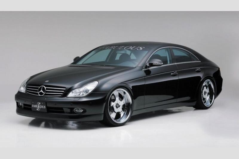 Аэродинамический обвес Fabulous для Mercedes CLS-class C219
