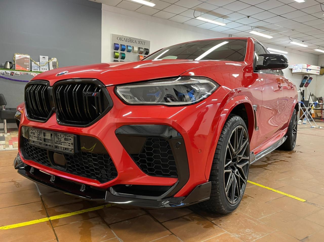 Тюнинг GRT для BMW X6 G06