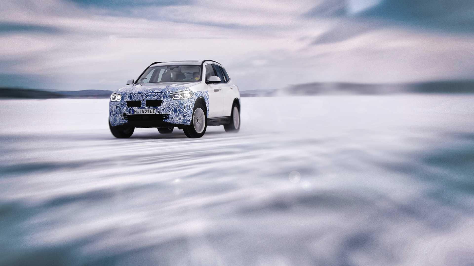 Баварцы приподняли завесу тайны – спецификация серийного BMW iX3 уже частично раскрыта