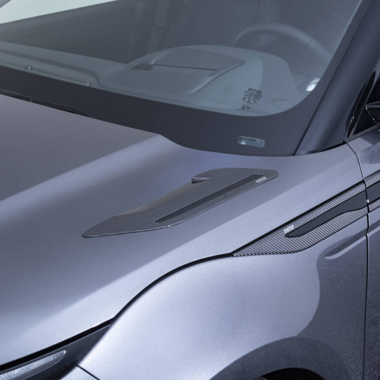 Карбоновые накладки на капот Startech для Range Rover Evoque 2019-