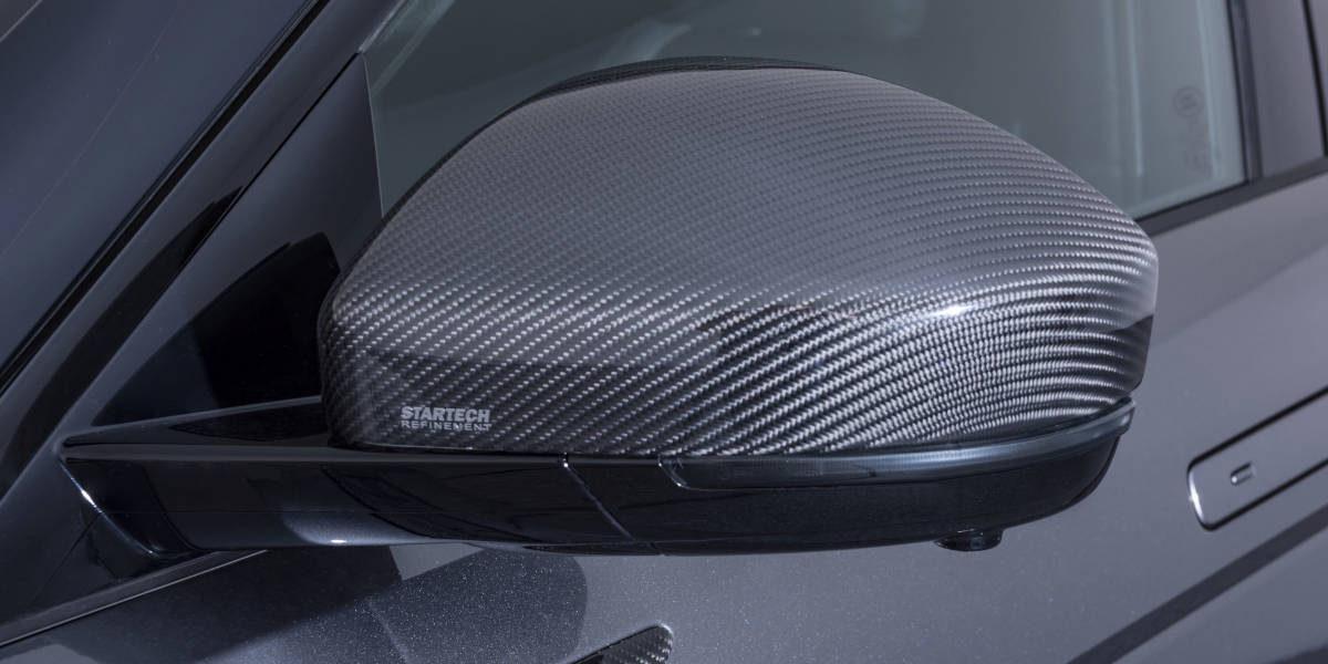 Карбоновые накладки на зеркала Startech для Range Rover Evoque 2019-
