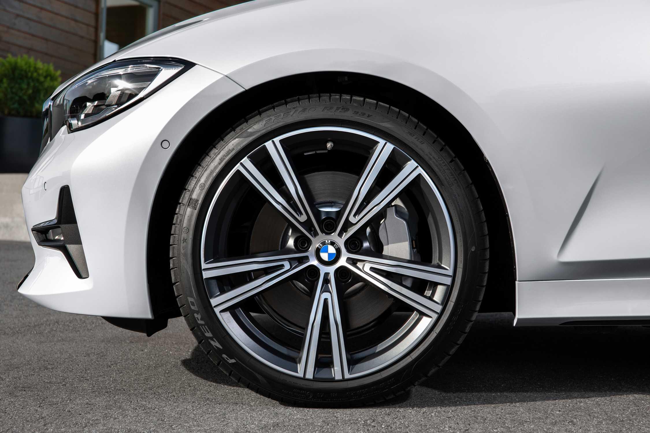 Легкосплавное дисковое колесо (сдвоенные спицы) 793i для BMW 3 Series G20/G21
