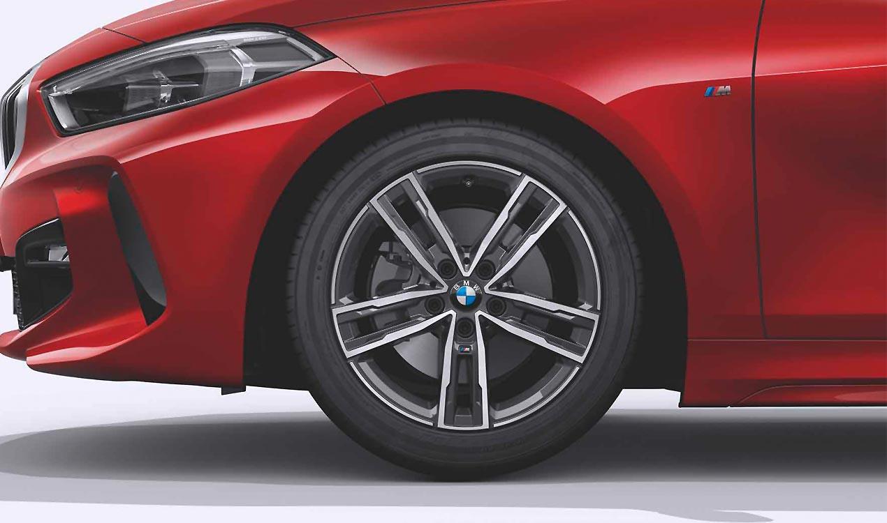 Легкосплавный колесный диск (сдвоенные спицы) 550M для BMW 1 Series F40
