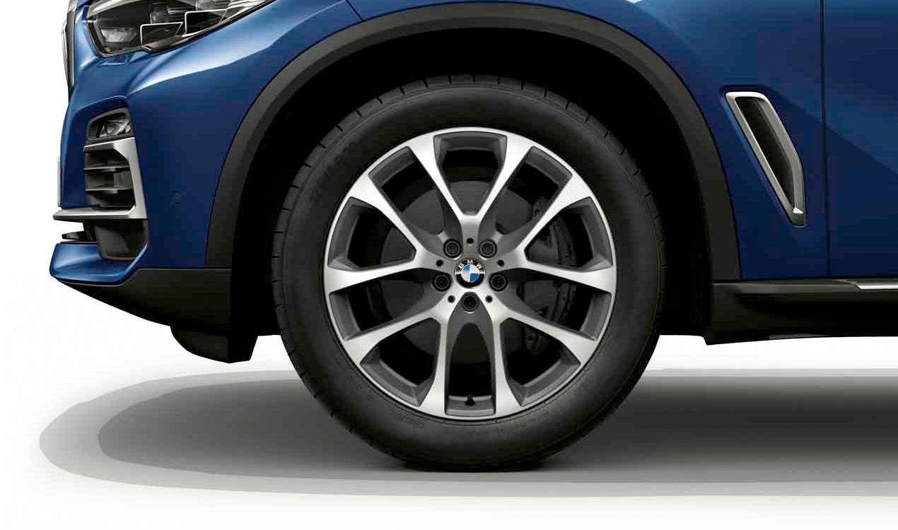 Легкосплавный колесный диск (V-образные спицы) 738 для BMW X6 G06
