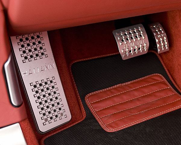 Ковры салона Hamann для Bentley Continental GT & Continental GT Speed