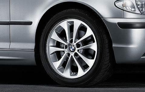 Легкосплавное дисковое колесо (сдвоенные спицы) 98 для BMW 1 Series E81/E87