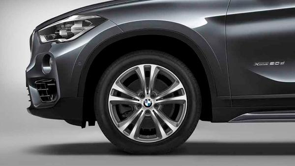 Легкосплавный колесный диск (сдвоенные спицы) 568 для BMW X1 F49