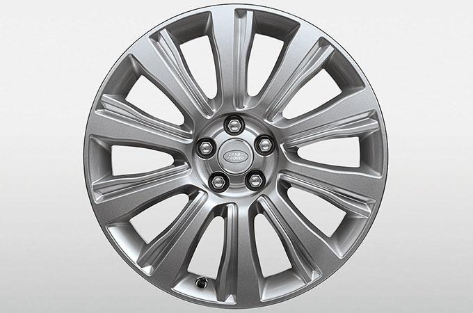 Колесный диск R20 Style 12 Sparkle Silver для Range Rover Evoque