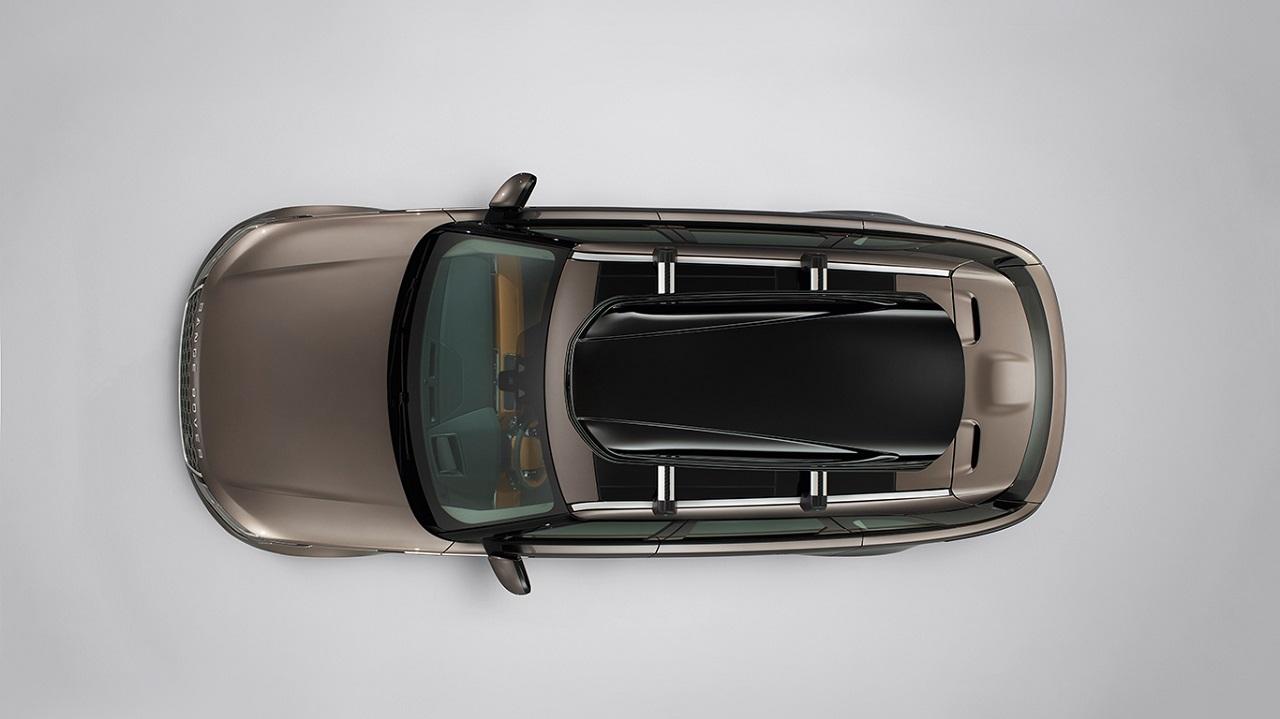 Багажный бокс на крышу багажника Gloss Black 410 L для Range Rover Evoque