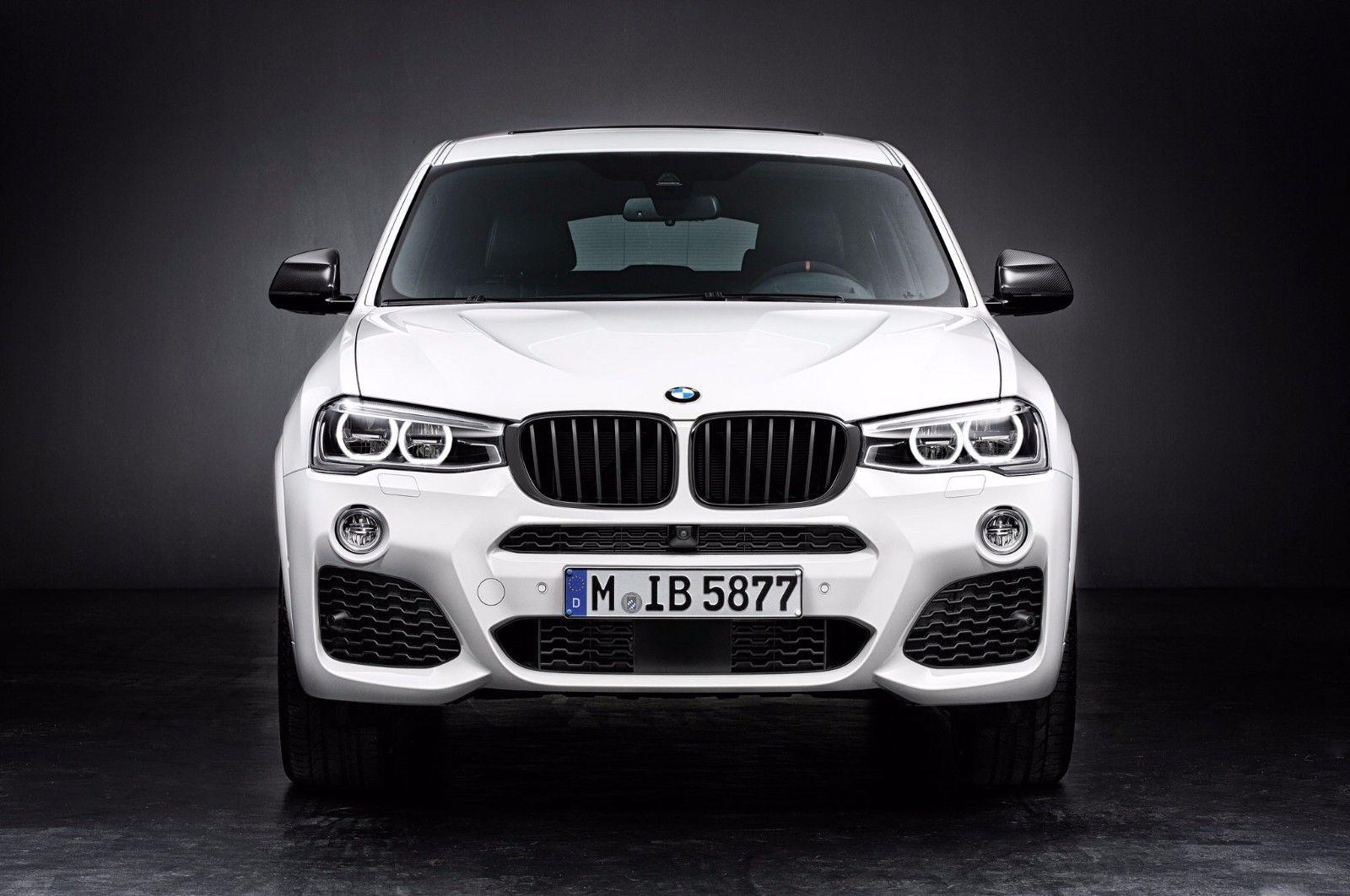 Аэродинамические принадлежности M Performance для BMW X3 F25