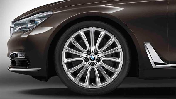 Легкосплавный колесный диск (V-образные спицы) 628 для BMW 7 Series G11/G12 LCI