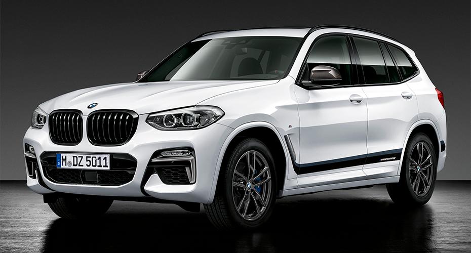 Тюнинг Performance для BMW X3 G01