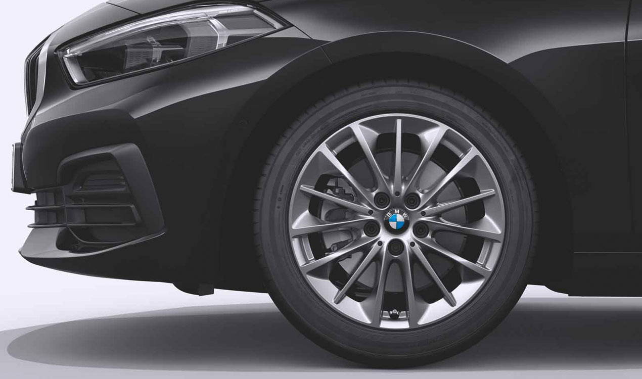Легкосплавное дисковое колесо (многоспицевое) 546 для BMW 1 Series F40