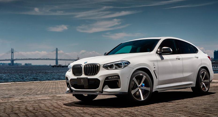 Тюнинг 3D Design для BMW X4 G02