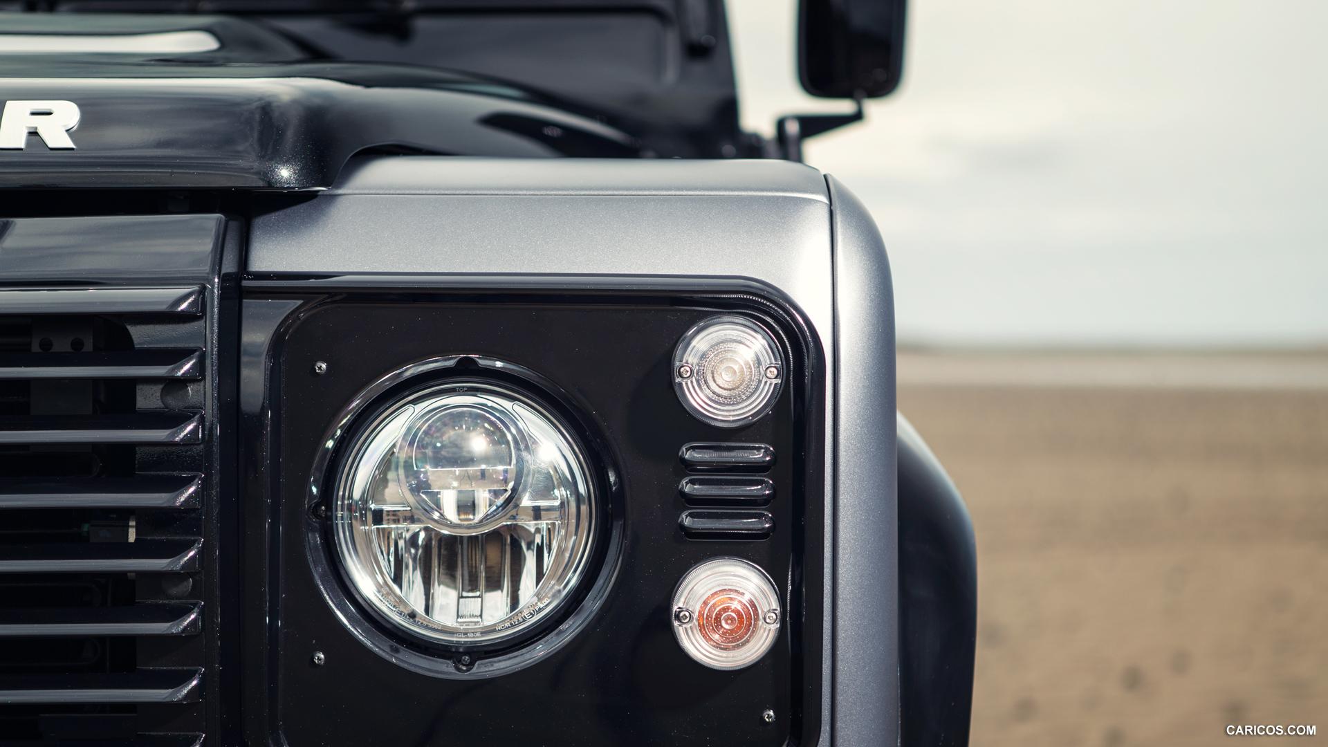 Передняя светодиодная фара с линзой для Land Rover Defender