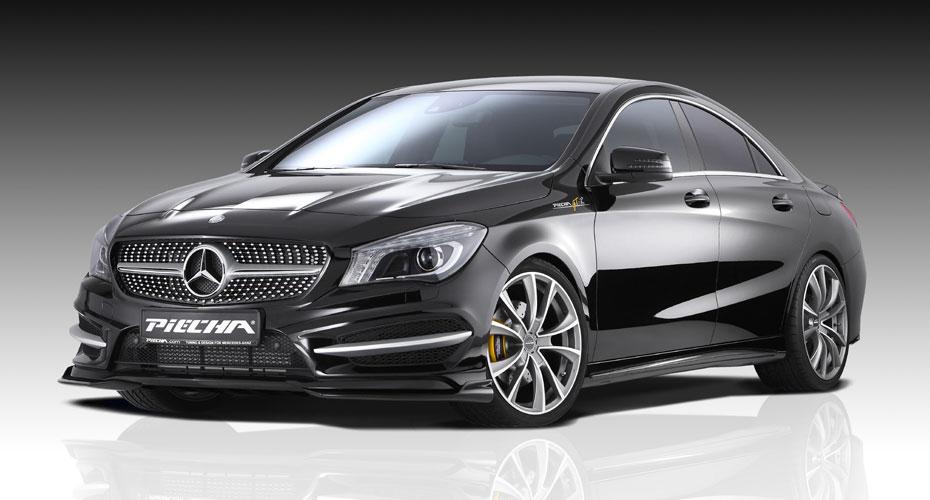 Обвес Piecha Design для Mercedes CLA-class C117