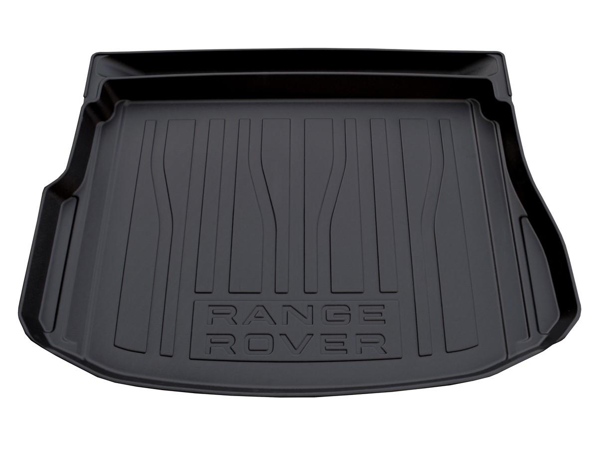 Резиновый ковер багажного отделения с бортами для Range Rover Evoque