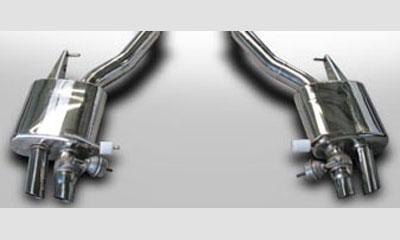 Спортивные глушители Mansory для Rolls-Royce Wraith