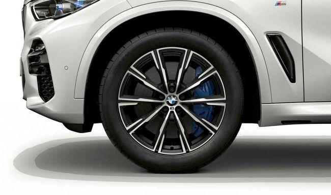 Легкосплавный колесный диск (звездообразные спицы) 740M для BMW X6 G06