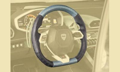 Спортивный руль (кожа / карбон) Mansory для Lamborghini Huracan