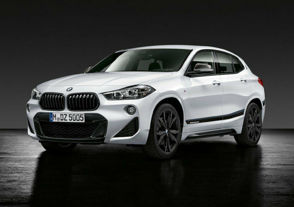 Аэродинамические принадлежности M Performance для BMW X2 F39