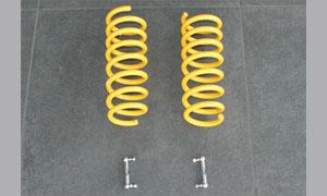 Комплект пружин (занижение на 40 мм спереди / 40 мм сзади) Hamann Widebody для BMW X5 F15