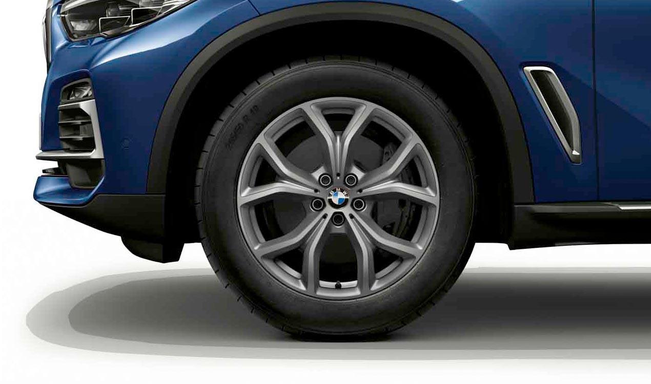 Легкосплавный колесный диск (V-образные спицы) 735 для BMW X5 G05