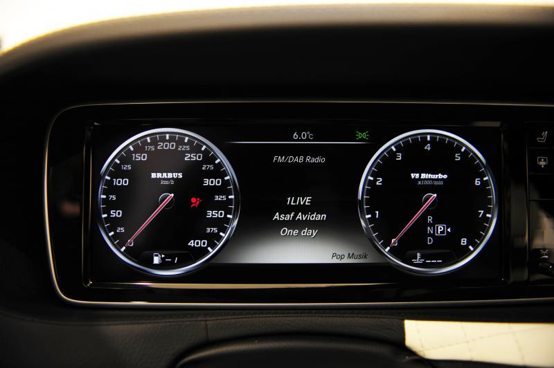Спидометр BRABUS 400км/ч для Mercedes G-class W464 (W463 A)