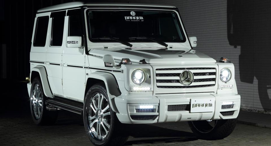 Обвес Branew для Mercedes G-class W463