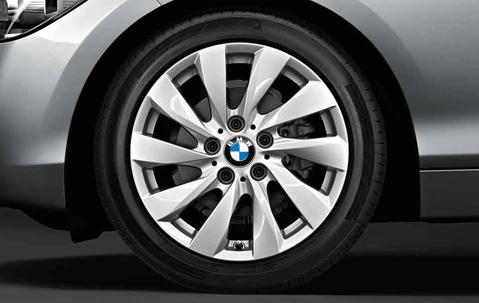 Легкосплавное дисковое колесо (турбинный дизайн) 381 для BMW 1 Series F20/F21