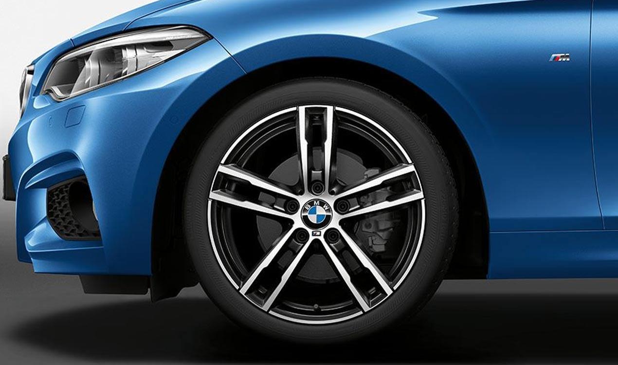 Легкосплавный колесный диск (сдвоенные спицы) 819M для BMW 1 Series F40