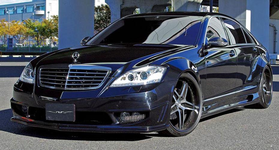 Аэродинамический обвес VITT Super Wide Version Type II для Mercedes S-class W221