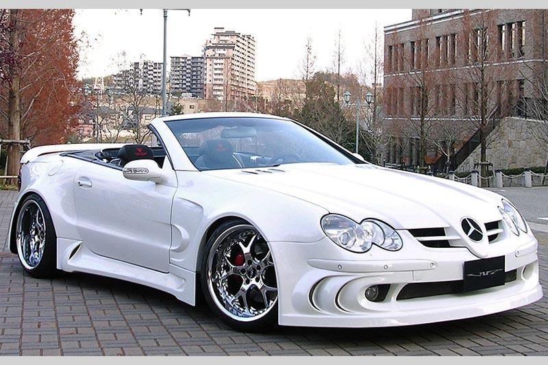 Аэродинамический обвес VITT Super Wide Edition для Mercedes SL-class R230