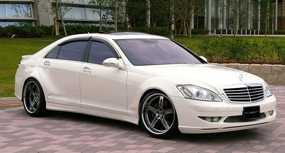 Аэродинамический обвес VITT Super Wide Version для Mercedes S-class W221