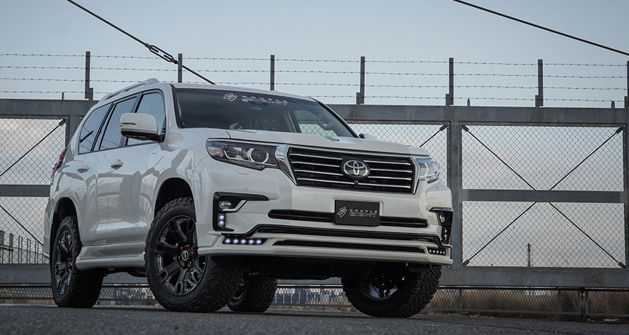 Обвес Double Eight для Land Cruiser Prado 150